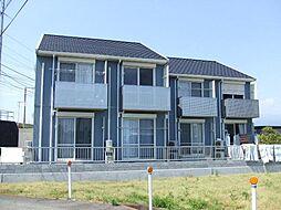 静岡県富士市中島の賃貸アパートの外観