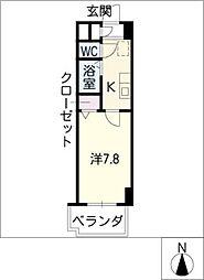 グランダリュール[9階]の間取り