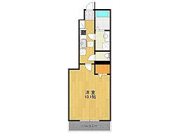 仮)K様アパート[1階]の間取り