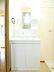 洗面,3DK,面積63.26m2,賃料5.0万円,東武日光線 静和駅 徒歩8分,JR両毛線 岩舟駅 徒歩37分,栃木県栃木市岩舟町静和