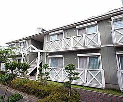 京都府宇治市木幡西浦の賃貸アパートの外観