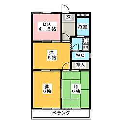 EUROPEAN TAKISEI[2階]の間取り