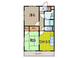 パークシティ浦和[4階]の間取り