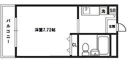 エクセレンス新大阪[11階]の間取り