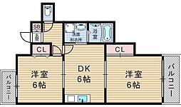 ライフステージヨシダ[11階]の間取り