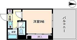 長居TSマンション[5階]の間取り