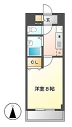 現代ハウス大須[11階]の間取り