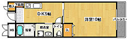 フェアリーコート鳳[207号室]の間取り