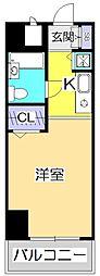 東京都国分寺市本町2の賃貸マンションの間取り