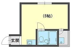 トキワパレス2[3階]の間取り