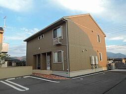 福岡県北九州市八幡西区楠橋東1丁目の賃貸アパートの外観