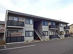 長野県千曲市大字千本柳の賃貸アパートの外観