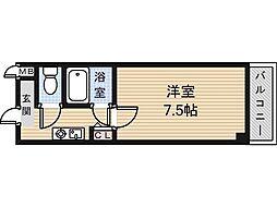 サイレストSB[4階]の間取り