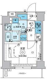リヴシティ横濱インサイト[7階]の間取り