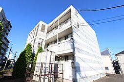 東京都府中市緑町1丁目の賃貸マンションの外観