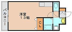 プチメゾン[3階]の間取り