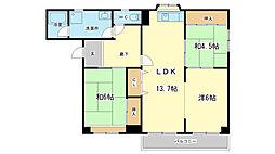 高島マンション[2階]の間取り