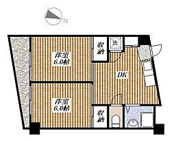 耕和昭島ビル[2階]の間取り