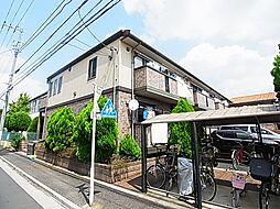 東京都足立区六木3丁目の賃貸アパートの外観