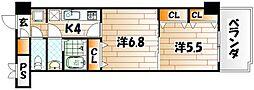 木下鉱産ビルII[7階]の間取り
