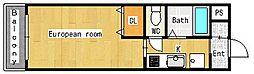 ディアコ−トソレイユ[2階]の間取り