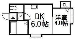オークヴィラ[2階]の間取り