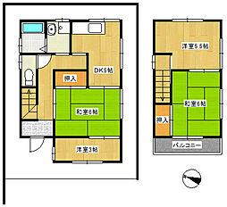 [一戸建] 千葉県船橋市馬込西2丁目 の賃貸【千葉県 / 船橋市】の間取り