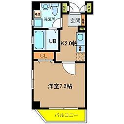 Ritz新今里[4階]の間取り