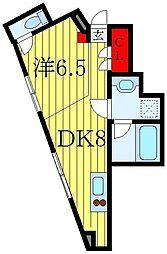東京メトロ南北線 駒込駅 徒歩3分の賃貸アパート 1階1DKの間取り