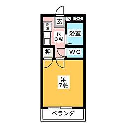 CH志賀本通II[4階]の間取り
