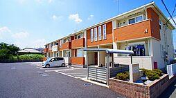 埼玉県熊谷市妻沼の賃貸アパートの外観