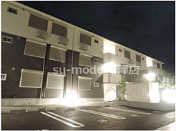 滋賀県大津市大萱5丁目の賃貸アパートの外観