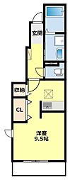 越戸駅 5.8万円