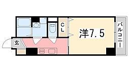 エクセル姫路[903号室]の間取り