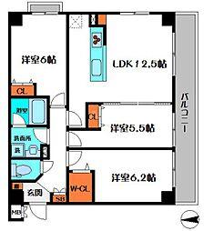 仮称)新喜多東1丁目新築マンション[5階]の間取り