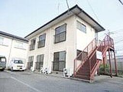 栃木県宇都宮市東峰町の賃貸アパートの外観