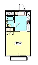 メゾン浦和[303号室]の間取り