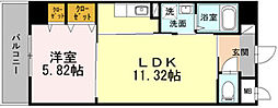 大阪府大阪市北区本庄東2丁目の賃貸マンションの間取り