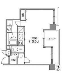白金台アパートメント[7階]の間取り