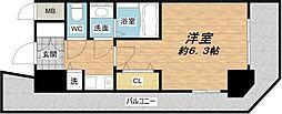 エイペックス心斎橋東[5階]の間取り