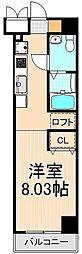 レジディア上野御徒町[15階]の間取り