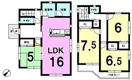 全居室、収納あり人気の対面キッチン