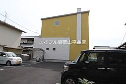 岡山県岡山市南区新福1の賃貸アパートの外観