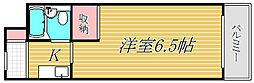 東京都渋谷区本町4丁目の賃貸マンションの間取り