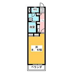 サンベルンII[3階]の間取り