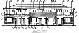 エクセレント平和台 III[201号室]の外観