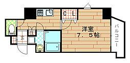 エクスクルーシブレジデンス西九条[7階]の間取り