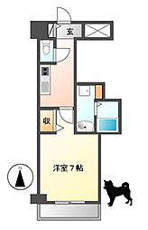 PONTE ALTO 新栄[8階]の間取り