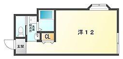 レインボービル[6階]の間取り