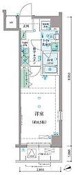 リヴシティ早稲田[2階]の間取り